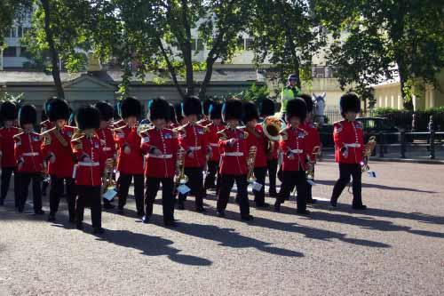 Kraljeva garda v Londonu