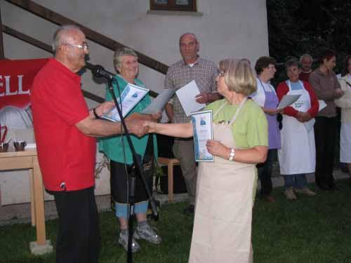 Kostelski čušpajs in podelitev priznanj